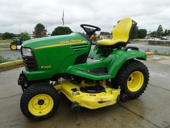 2004 John Deere X585 Riding Mower For Sale
