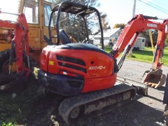 Excavator-Track For Sale 2016 Kubota KX040-4R1A