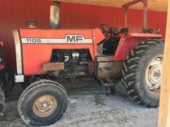 Tractor - Row Crop For Sale:  1976 Massey Ferguson MF1105 , 110 HP