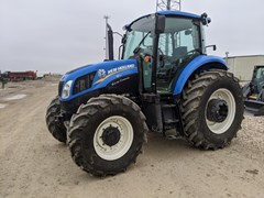 Tractor For Sale 2014 New Holland T5.115 , 114 HP
