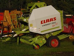 Baler-Round For Sale 2007 CLAAS 260