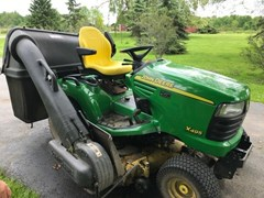 Lawn Mower For Sale 2002 John Deere X495 , 24 HP