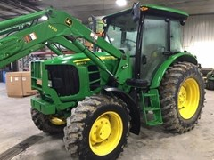 Tractor For Sale 2011 John Deere 6100D , 82 HP
