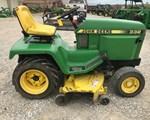 Riding Mower For Sale1989 John Deere 332, 18 HP