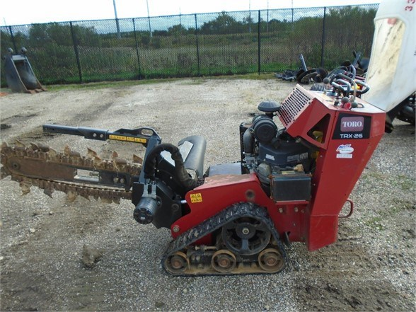 2011 Toro TRX26 Trencher-Rubber Tires For Sale