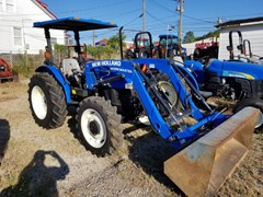 Tractor For Sale 2012 New Holland WORKMASTER 55 MFD LDR , 55 HP