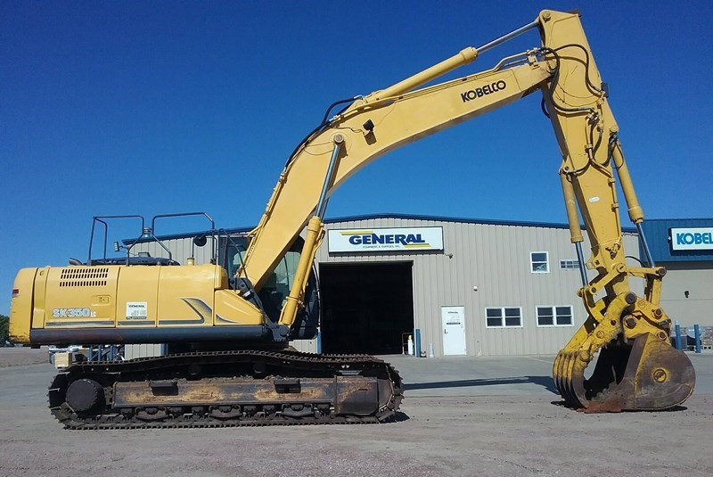 2013 Kobelco SK350LC-9 Excavator For Sale