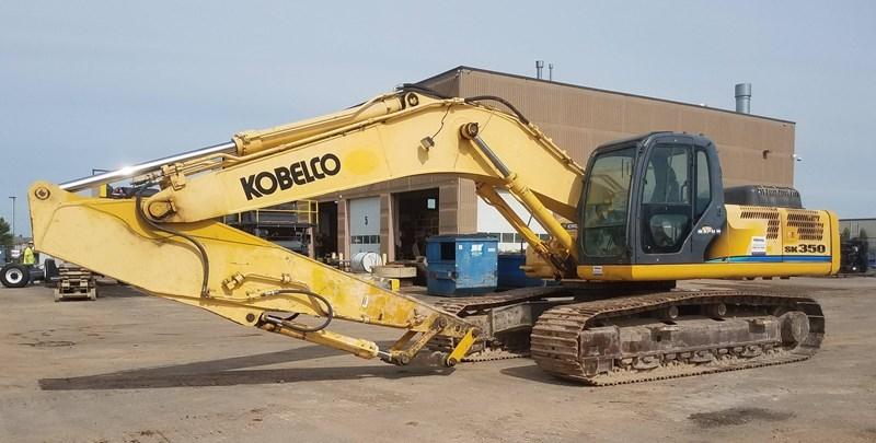 2007 Kobelco SK350LC Excavator For Sale