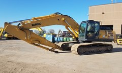 Excavator For Sale 2014 Kobelco SK350LC-9