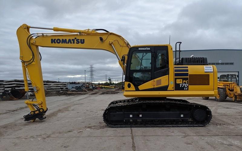 2019 Komatsu PC170LC-11 Excavator For Sale
