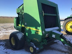 Baler-Round For Sale 2008 John Deere 568