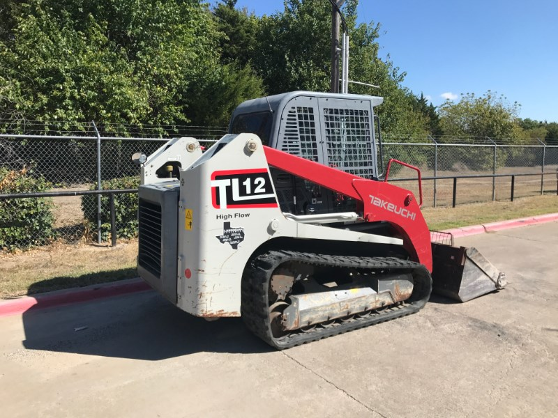 2016 Takeuchi TL12CRHR Skid Steer-Track For Sale
