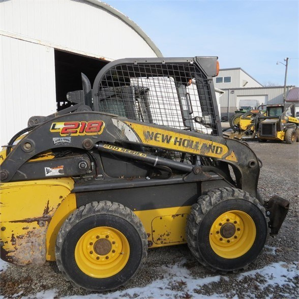 2015 New Holland L218 Skid Steer For Sale