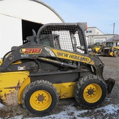 Skid Steer For Sale 2015 New Holland L218