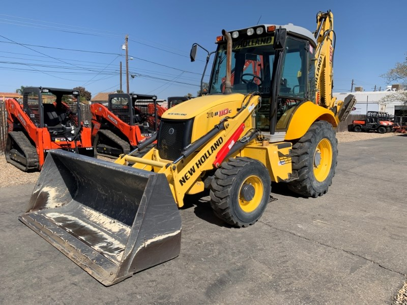 2014 New Holland B110C Loader Backhoe For Sale