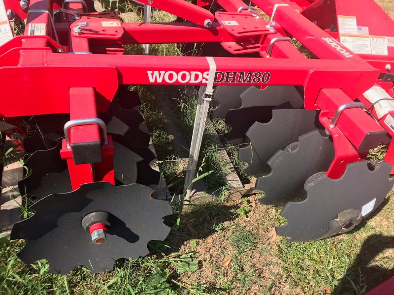 Woods DHM80 Disk Harrow For Sale
