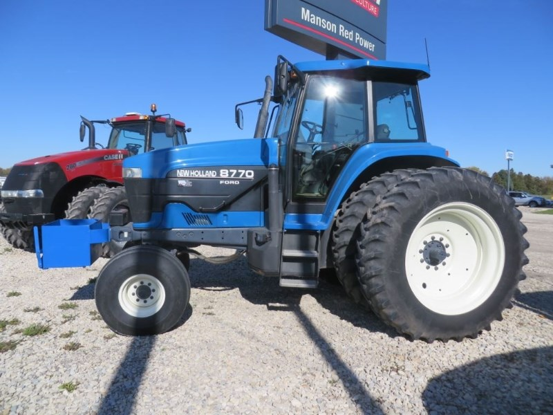 1997 Ford 8770 Tractor For Sale