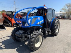 Tractor For Sale 2019 New Holland T4.110F LPC , 110 HP