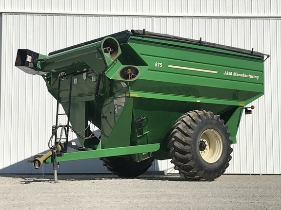 2009 J & M 875-18 Grain Cart For Sale