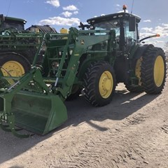 Tractor - Row Crop For Sale 2018 John Deere 7230R , 230 HP