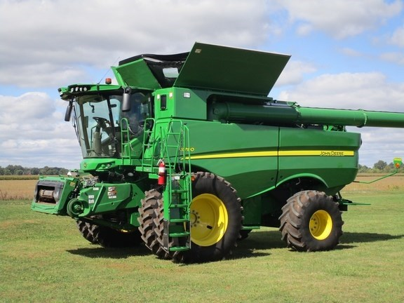 2018 John Deere S780 Combine For Sale