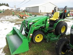 Tractor - Compact Utility For Sale 2015 John Deere 2032R , 32 HP