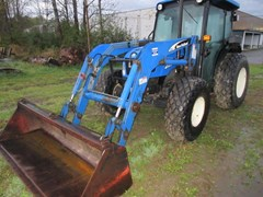 Tractor For Sale 2004 New Holland TN75S , 75 HP