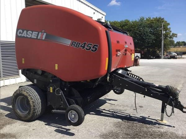 Case IH RB455 Baler-Round For Sale