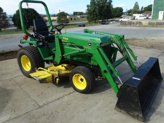 1996 John Deere 855 Tractor For Sale