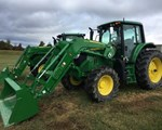 Tractor For Sale2018 John Deere 6130M, 130 HP
