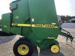 Baler-Round For Sale 2001 John Deere 557