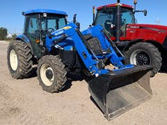 Tractor For Sale 2007 New Holland TD80D , 80 HP