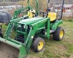 Tractor For Sale: 2002 John Deere 2210, 22 HP