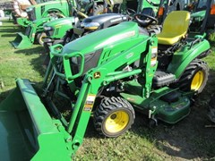 Tractor - Compact Utility For Sale 2016 John Deere 1023E , 23 HP