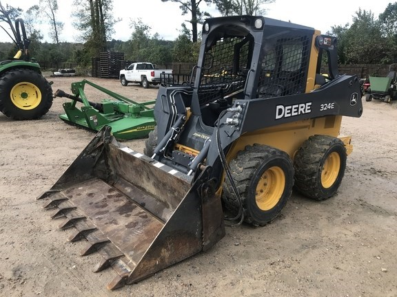 2017 John Deere 324E Skid Steer For Sale