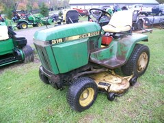 Lawn Mower For Sale 1985 John Deere 316 , 18 HP