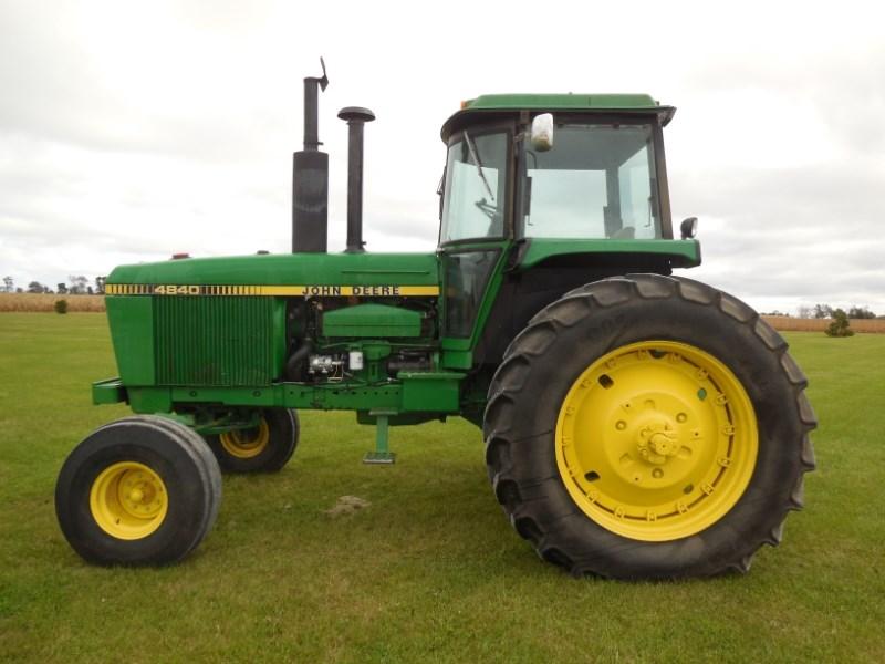 1980 John Deere 4840 Tractor For Sale