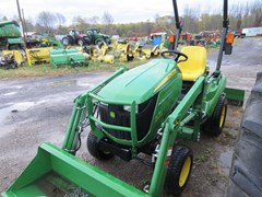 Tractor - Compact Utility For Sale 2017 John Deere 1023E , 23 HP