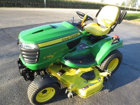 2013 John Deere X758 Riding Mower For Sale