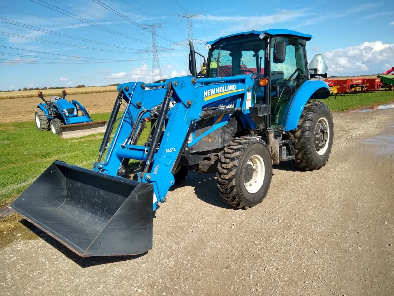 2013 New Holland T4.75 Tractor For Sale