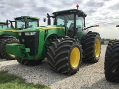 Tractor - Row Crop For Sale 2017 John Deere 8370R , 370 HP