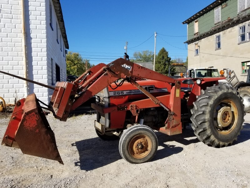 1981 Massey Ferguson 265 LDR Tractor For Sale