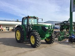 Tractor - Row Crop For Sale 2016 John Deere 6155M , 155 HP