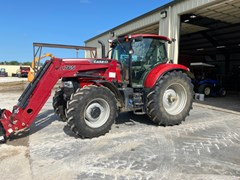 Tractor For Sale 2014 Case IH MAXXUM 140 , 140 HP