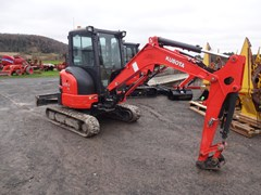 Excavator-Mini For Sale 2017 Kubota U35-4