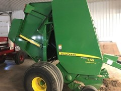 Baler-Round For Sale 2015 John Deere 569 Std