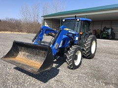 Tractor - Utility For Sale 2008 New Holland TN70A , 70 HP