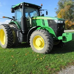 Tractor - Row Crop For Sale 2016 John Deere 7230R , 230 HP