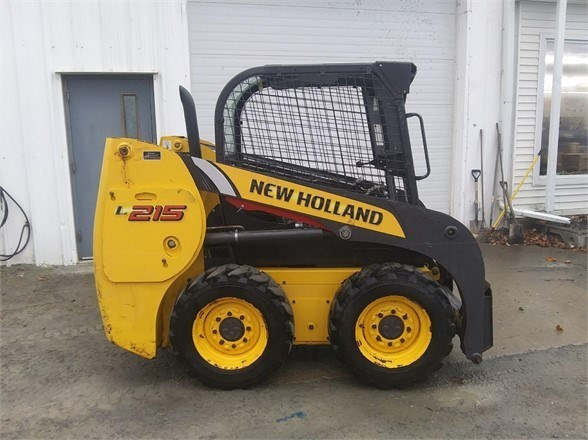 2011 New Holland L215 Skid Steer For Sale