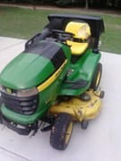 Riding Mower For Sale:  2010 John Deere X320 , 22 HP